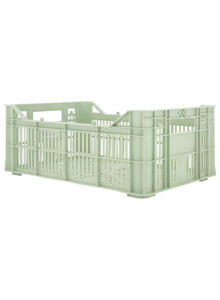 storage crate - 30 x 20 x 11 - recycled mint green mint green 30 x 20 x 11 - 39892923 - hema