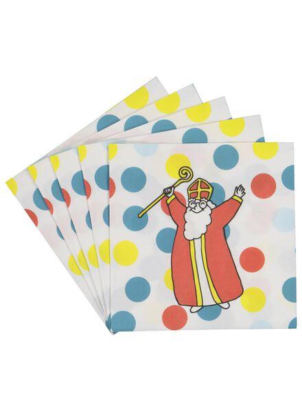 20 St. Nicholas serviettes size 33x33 - 25900061 - hema