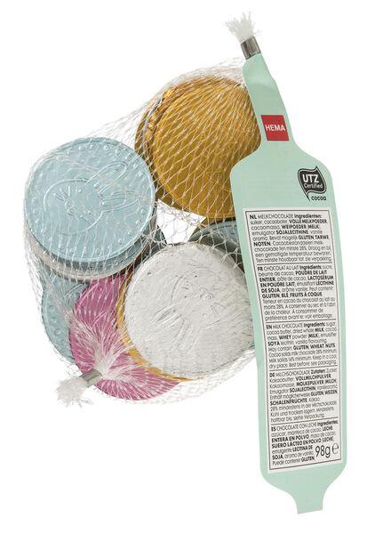 pièces de monnaie de Pâques en chocolat au lait - 10049884 - HEMA