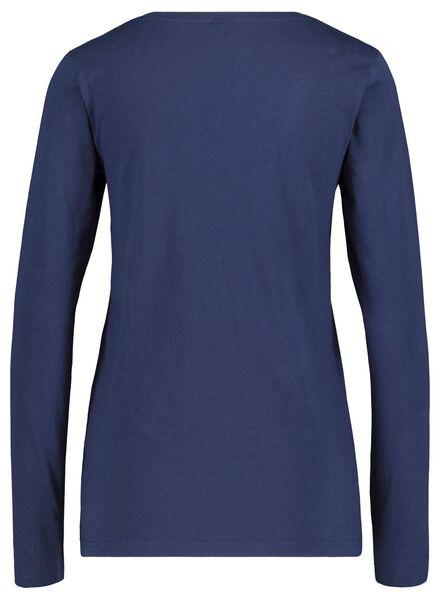 women's pyjamas Christmas dark blue dark blue - 1000017439 - hema