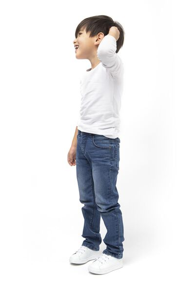 jean enfant modèle regular fit denim denim - 1000017877 - HEMA
