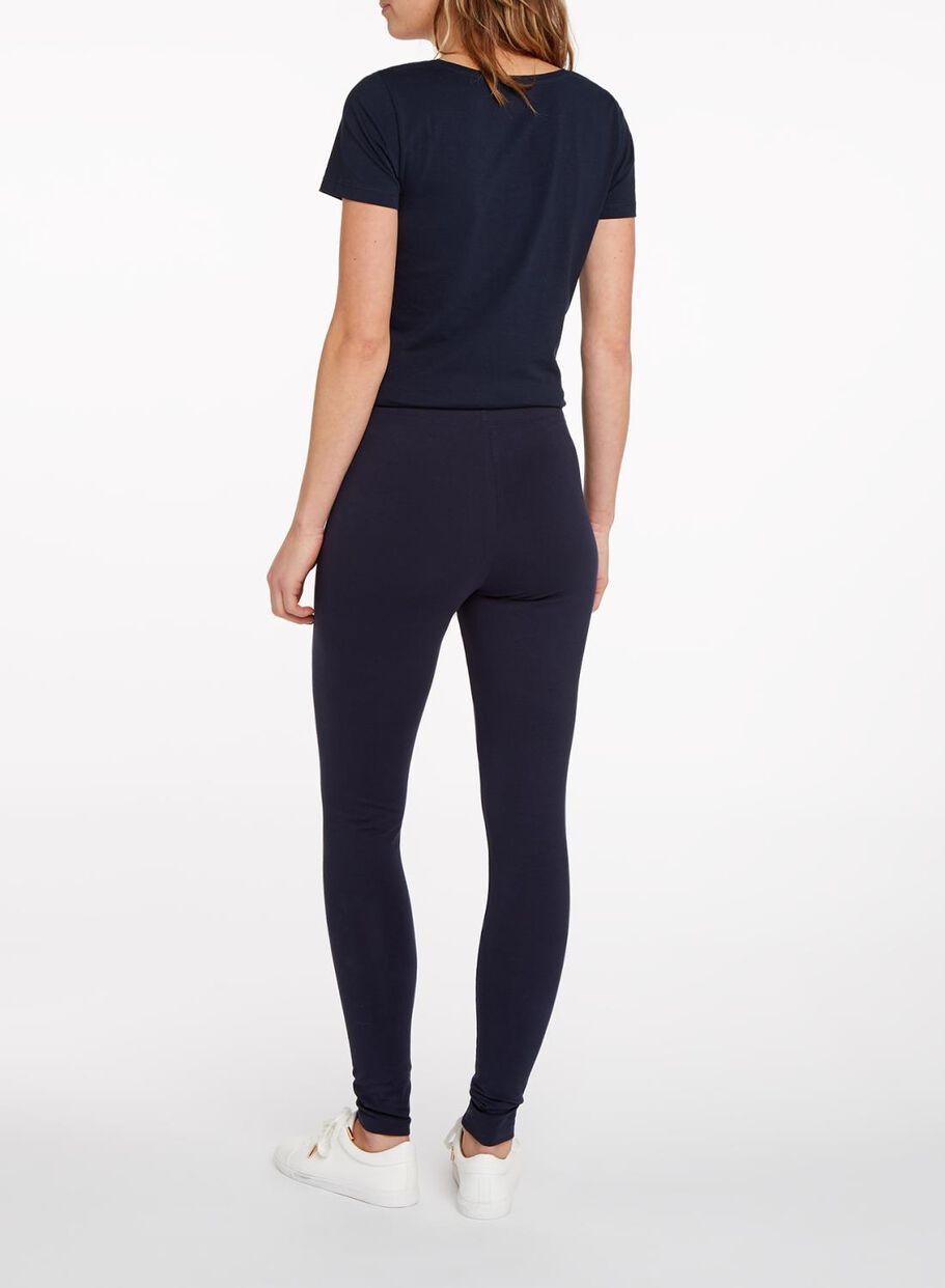 ... HEMA legging femme - coton biologique bleu foncé bleu foncé -  1000004664 ... 5c06005fee5