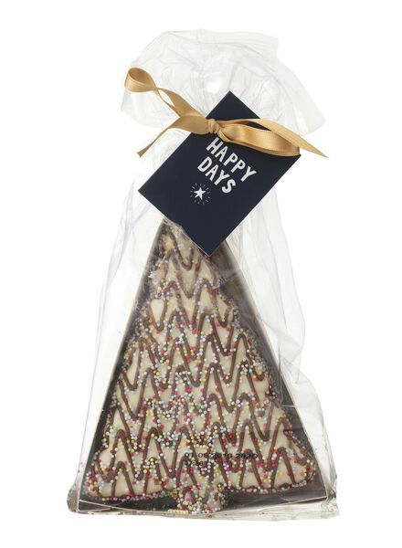 biscuits sapin de noël chocolat - 10910010 - HEMA