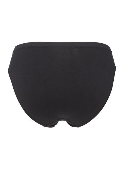 Damen-Slip, nahtlos schwarz schwarz - 1000002207 - HEMA
