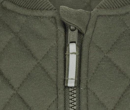children's bomber cardigan army green 110/116 - 30735012 - hema