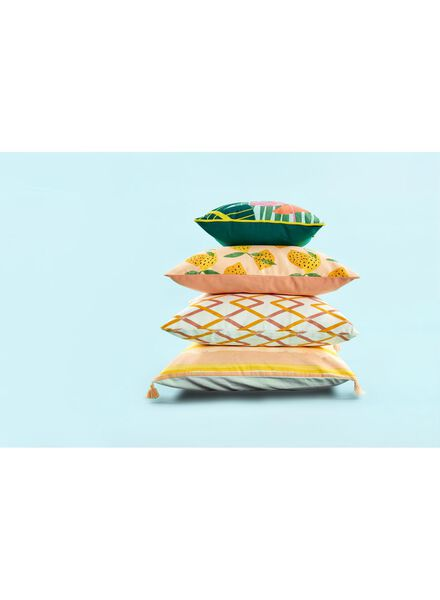 cushion cover - 50 x 50 - yellow pink - 7391006 - hema