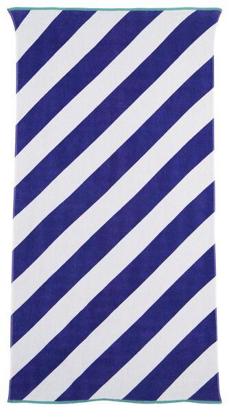 serviette de plage velours 90 x 180 - 5290036 - HEMA