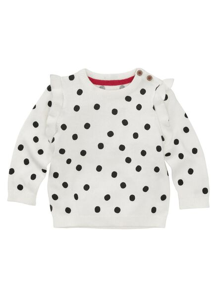 HEMA Baby Pullover Eierschalenfarben