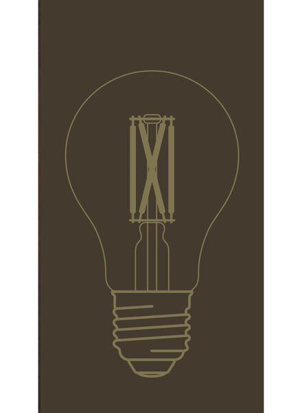 LED-Lampe, 4W, 310Lumen, Birne, gold - 20020070 - HEMA