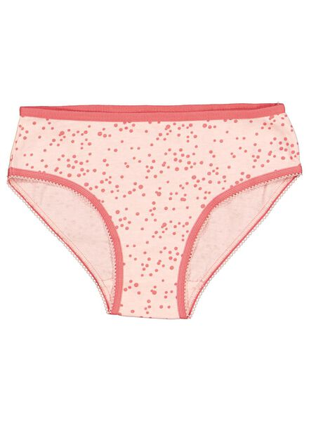 lot de 4 slips enfant rose rose - 1000014600 - HEMA