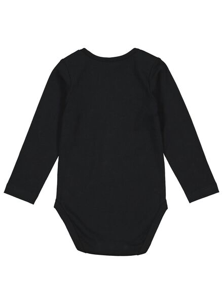 body coton biologique stretch noir noir - 1000015070 - HEMA