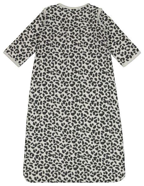 gigoteuse bébé avec manches zippées animal noir/blanc noir/blanc - 1000022885 - HEMA