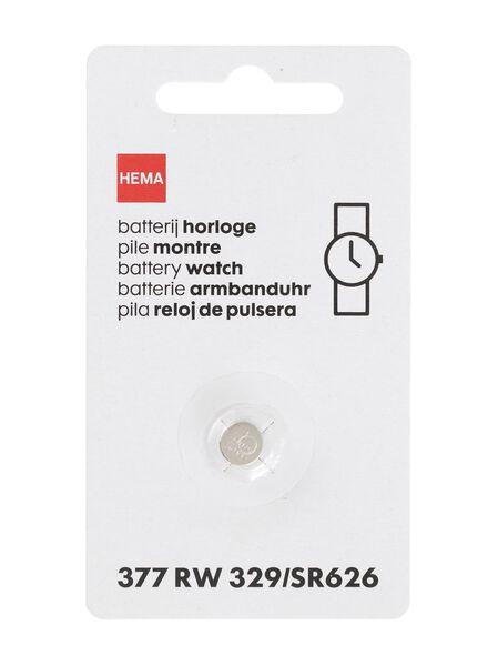 wristwatch battery 377 RW 329/SR626 - 41290288 - hema