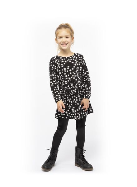 children's dress black black - 1000017284 - hema