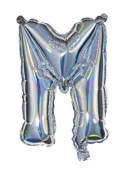 foil balloon M - silver - 14200215 - hema