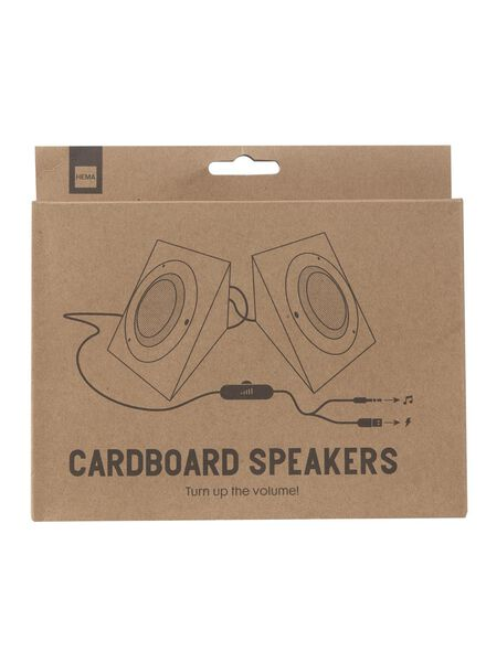cardboard speakers - 60300493 - hema