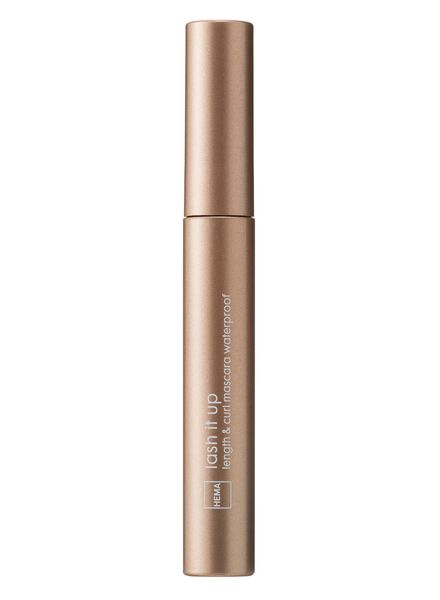 mascara waterproof longueur & courbe - 11210078 - HEMA