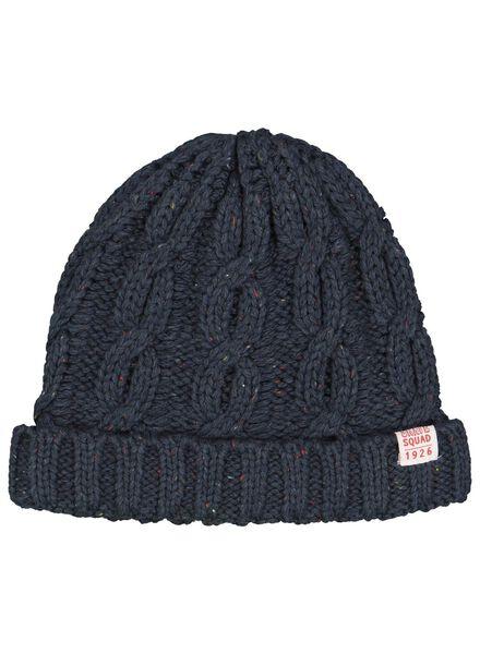 children's hat dark blue dark blue - 1000015376 - hema