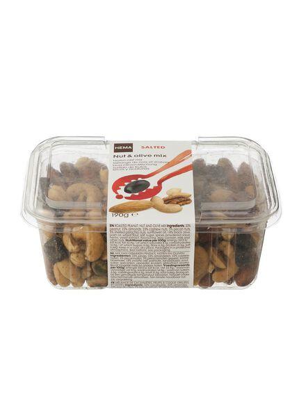 mixed nuts with olives - 10673013 - hema