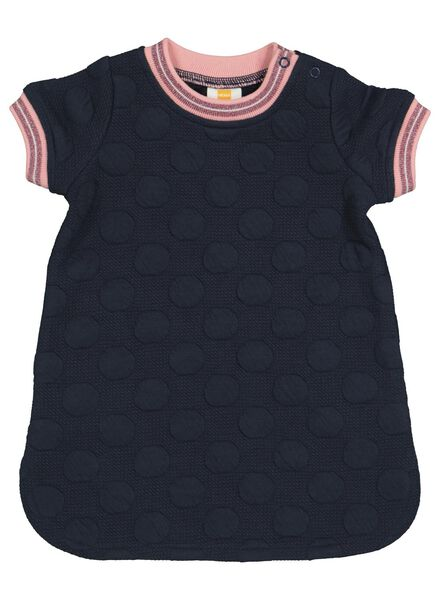 robe bébé bleu foncé bleu foncé - 1000015305 - HEMA