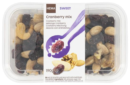 mélange cranberries - 10654465 - HEMA