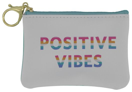 key chain pouch positive vibes - 61122323 - hema