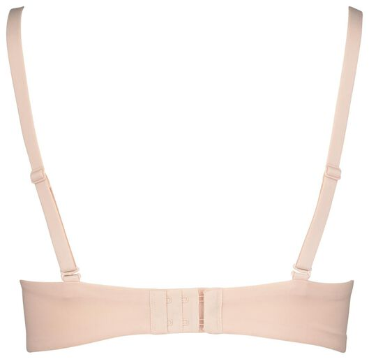 padded T-shirt bra no underwires micro extra soft pink pink - 1000018050 - hema