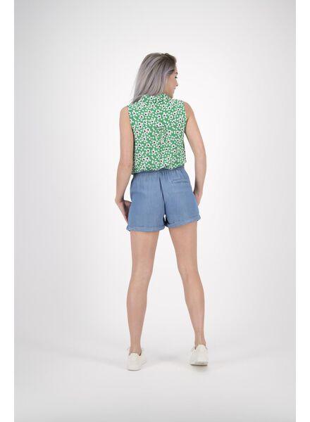 Damen-Bluse grün grün - 1000013605 - HEMA