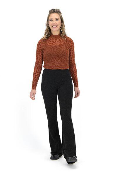 women's top brown brown - 1000017186 - hema