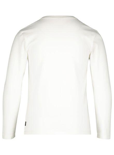t-shirt enfant blanc cassé blanc cassé - 1000017288 - HEMA