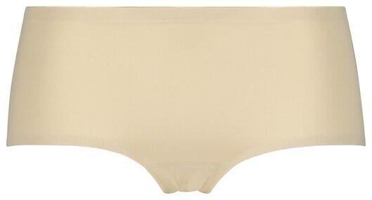 HEMA Boxer Femme Sans Coutures En Micro Beige (beige)