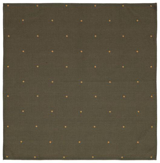 set tea and kitchen towel Christmas green cotton - 5420015 - hema