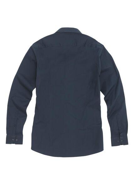 men's shirt dark blue dark blue - 1000006054 - hema