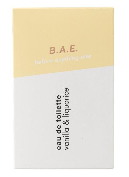 B.A.E. eau de toilette vanilla and liquorice 50ml - 17730002 - HEMA