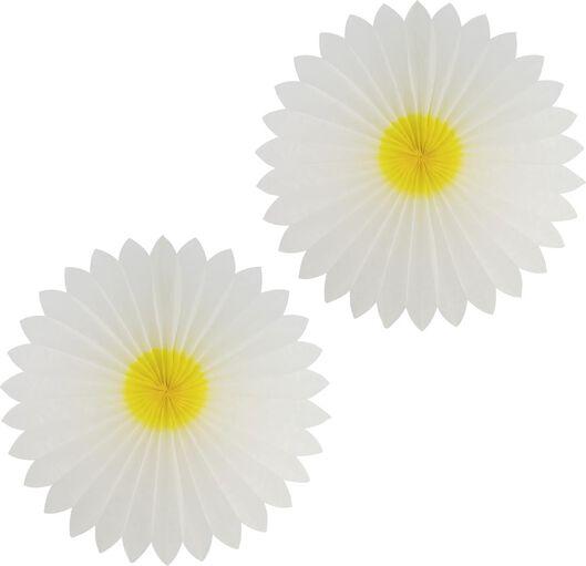 2er-Pack Papierwaben-Blumen, Ø 50 cm - 25800160 - HEMA