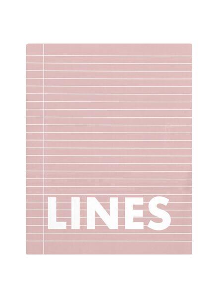 3 exercise books 16 5 x 21 cm - lined - HEMA