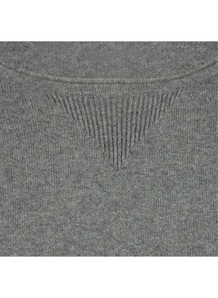 knitted men's sweater - organic cotton grey grey - 1000016882 - hema