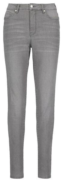 women's jeans - shaping skinny fit mid grey mid grey - 1000018247 - hema