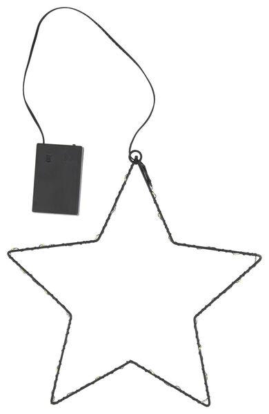 Metallstern mit LED - 25500071 - HEMA