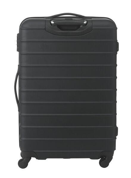 Koffer – 77 x 52 x 28 cm – schwarz gestreift 77 x 52 x 28 schwarz - 18670002 - HEMA