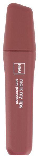 lipmarker semi-permanent red - 11230994 - HEMA
