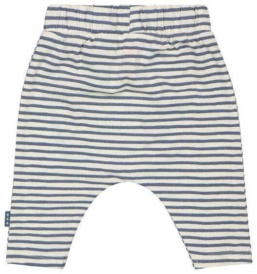 pantalon pour nouveau-né coton bio stretch blanc cassé blanc cassé - 1000023561 - HEMA