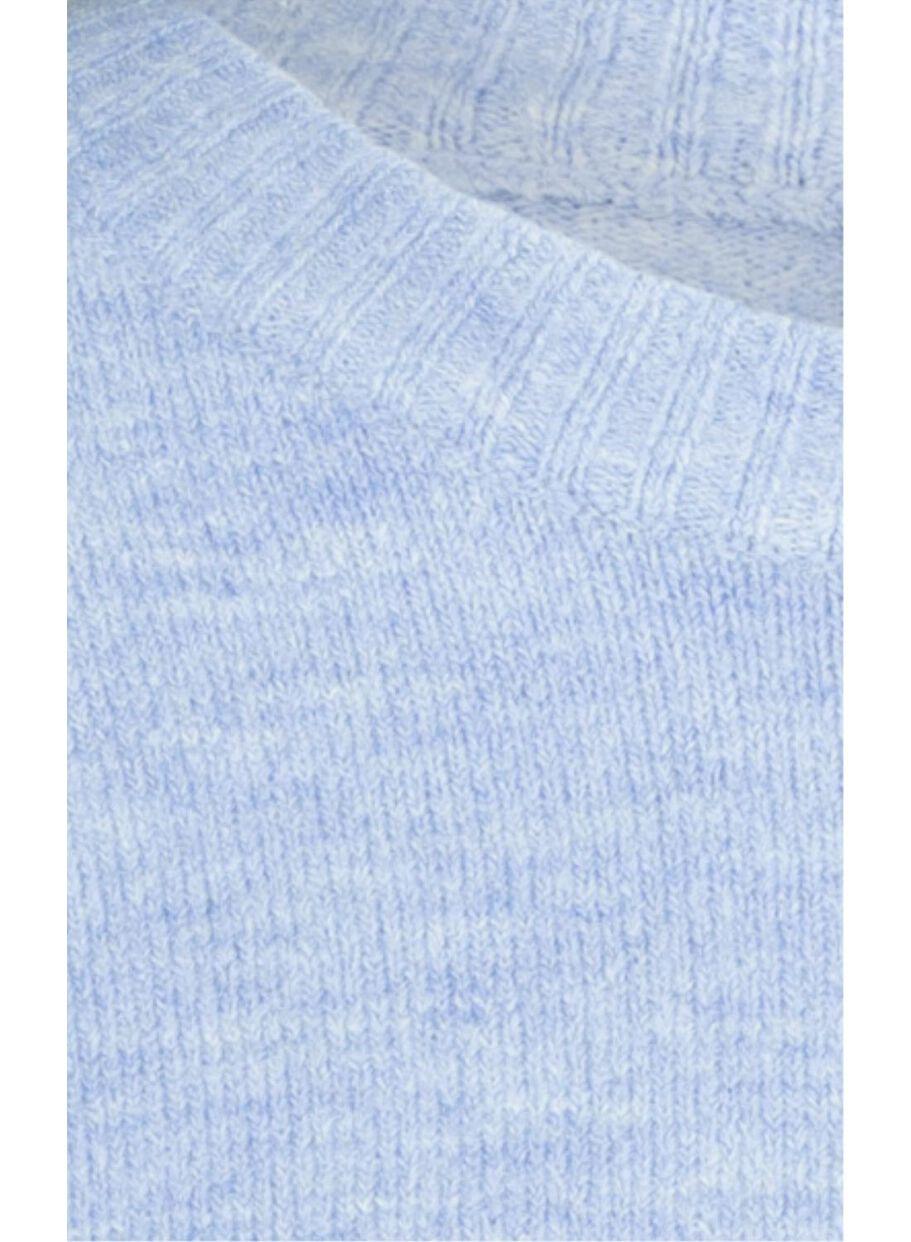 hellblauer pullover damen