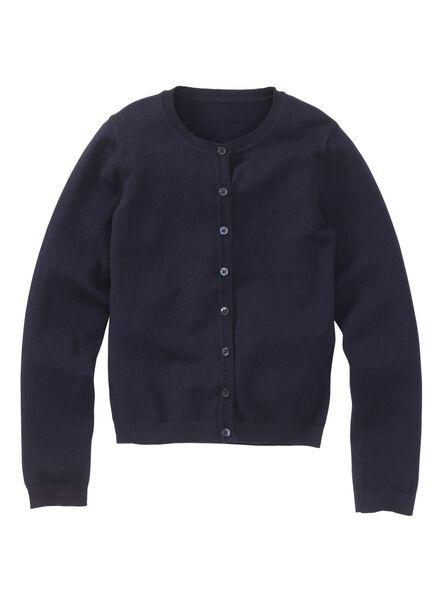 Kinder-Cardigan dunkelblau dunkelblau - 1000003115 - HEMA