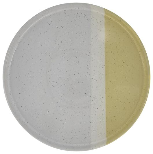 grande assiette - 26 cm - Cordoba - jaune - 9602120 - HEMA