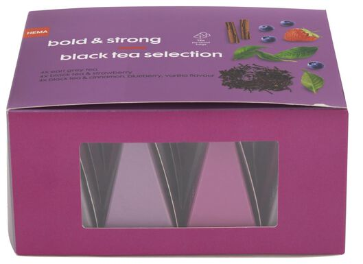 12 tea bags bold & strong - 60910063 - hema
