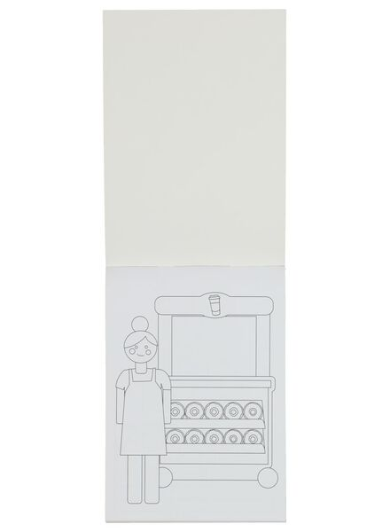 colouring book with stickers - 15920042 - hema