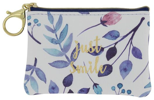 key chain pouch just smile - 61122327 - hema
