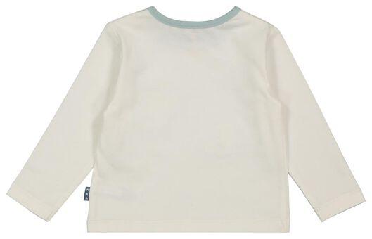 Newborn-Shirt, Luftballons eierschalenfarben eierschalenfarben - 1000022078 - HEMA