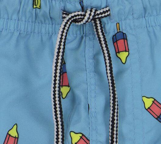 Kinder-Badehose hellblau hellblau - 1000018226 - HEMA